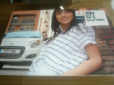 Suzuki Alto SZ-L Special Edition brochure May 2010