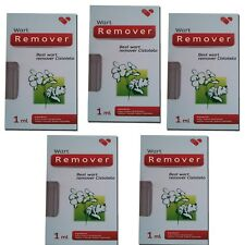 5x Best Wart Removal Get Rid Of Warts Treatment Skin Tags Mole Plantar Genital