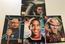 Star Trek 1994 Master Series Trading Cards (5)