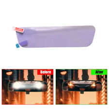 Car Inner Rearview Mirrors Anti-glare Film Clear Protective Sticker 196 x 50mm