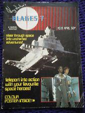 More details for rare blakes 7 marvel magazine no 19 includes colour poster classic retro sci fi