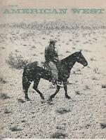 The American West Magazine VI #1 Pecos Bill Suffrage Trail to the Klondike