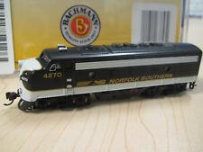 Bachmann #63753 N-scale EMD F7 locomotive DCC-Onboard Norfolk Southern #4270