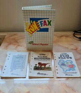 Vintage Retro 1990's Fun Fax 'The Children's Organiser' Quiz Puzzles Book