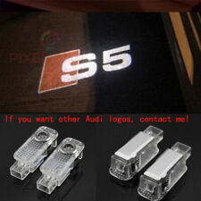 2Pcs Audi S5 LOGO GHOST LASER PROJECTOR DOOR UNDER PUDDLE LIGHTS FOR AUDI S5 -