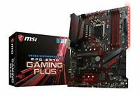 MSI MPG Z390 GAMING PLUS Motherboard ATX, LGA1151, DDR4, LAN, USB 3.1 Gen2,