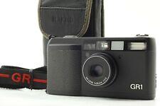NEAR MINT Read RICOH GR1 Black Point & Shoot 35mm Film Camera From JAPAN #F205