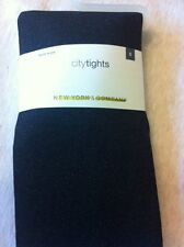 NY & CO CITY TIGHTS BLACKISH GRAY SIZE SMALL NEW WITH TAGS- MADE IN THE USA !!
