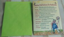 """Redneck Medicine"" Leanin Tree Get Well Card, By Crash Cooper, New With Envelope"