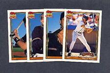 1991 Topps TRADED Baseball San Francisco Giants TEAM SET