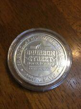 .999 Fine Silver;Casino Silver Strike, $7.00, BourbonStreet, In Capsule