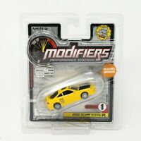 Modifiers Series 1 2000 Acura Integra Type R Yellow 1/64