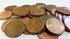 FULL ROLL 2008 CANADA ONE CENT PENNIES CIRCULATED