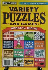 Penny Press Variety Puzzles and Games Special Issue Spring 2017 FREE SHIPPING sb