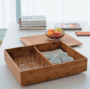 Alessi Wooden Fat Tray Storage Container 6848