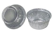 Heavy Duty 4 oz Aluminum Foil Cups Cupcake Mini Muffin Ramekin Disposable Pans