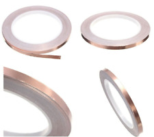 20/30/50m Kupferband 3mm selbstklebend abschirmend Kupferfolie Foil Tape