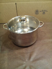 INNOVA  7-Qt. STOCK POT WITH LID 18/10 STAINLESS