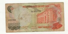 South Viet Nam(1) Bank Note 500 Dong (1970)