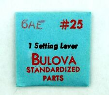 NEW OLD STOCK BULOVA 6AE SETTING LEVER WATCH PART #25