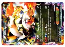 POKEMON BW11 BLACK & WHITE LEGENDARY TREASURES HOLO N° 101/113 WHITE KYUREM EX