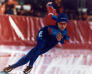 DAN JANSEN USA OLYMPIC SPEED SKATING 8X10 SPORTS PHOTO (S)