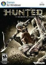 Hunted: The Demon's Forge, PC Games, DVD, Brand New ,  sealed