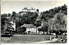 CP 38 ISERE - Uriage-les-Bains - Un coin du Parc et le Château