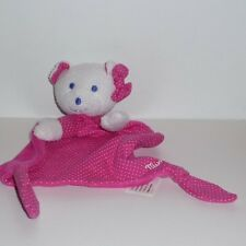 Doudou Ours Rose Musti