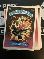 1985 TOPPS GARBAGE PAIL KIDS PICK FROM LIST EXCELLENT CONDITION SEE DESCRIPTION
