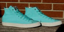 Wiz Khalifa's Converse All Stars Chuck Taylor Teal High Cut Shoes Men's Size 10