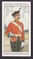 COPE - EMINENT BRITISH REGIMENTS OFFICERS (ENGLISH, BROWN) - #22 KING'S SCOTTISH