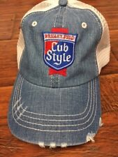 Chicago Cubs Old Style baseball hat trucker style mesh retro beer NEW