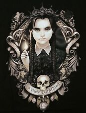 """I Hate Everything"" Wednesday Addams Men's Large Shirt Teevillain"