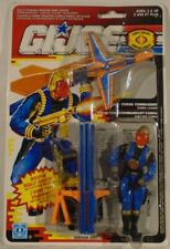 G.I. Joe 1990 Cobra Commander Leader Eyebrow Variant Mint On Canadian Card