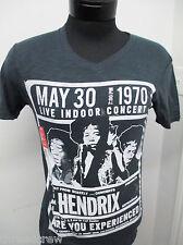 New! Jimi Hendrix Rock Conert Tour T-Shirt sz S mens vintage re-print S/S#3115