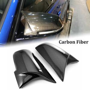 Carbon Fiber Wing Mirror Cover Cap For BMW F20 F21 F22 F30 F31 F32 F36 X1 E84
