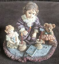 Yesterdays' Child Dollstone Collection 3526 Rachael with Barbara and Matthew.
