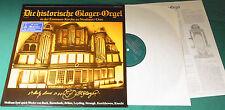 Lp   Die historische Gloger-Orgel zu Neuhaus/Oste  mit Wolfgang Syré  -SST 0174