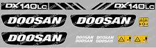DOOSAN DX140LC DIGGER DECAL SET