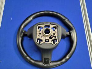 Genuine Porsche 3 Spoke Steering Wheel Black