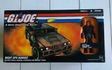 G.I. Joe 2005 Night Ops Humvee w/ Rollbar Hasbro NIB Never Opened