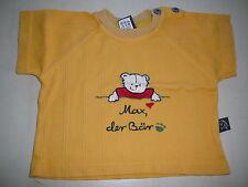Bondi tolles T.Shirt Gr. 68 gelb mit Bärchen Applikation vorn !!