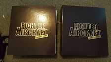 Amer Fighter Aircraft magazine collection. All issues 1-59 in ring binders.