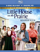 Little House on the Prairie - Season 5 (Blu-ray Disc, 2015, 5-Disc Set)