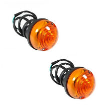 LAND ROVER SERIES 2 & 2A & 3 INDICATOR LAMP SET DIRECTIONAL AMBER 12V RTC5013 X2