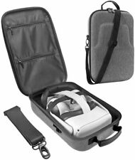More details for hard travel case for oculus quest 2 vr gaming headset, accessories, ( premium )