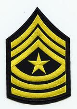 US Army Aufnäher United States Patch Forces USA Armee Sergeant Mayor SGM OR-9