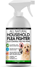 All Natural Household Flea Spray Fighter Safe Dogs Pets Carpet Bed Furniture New
