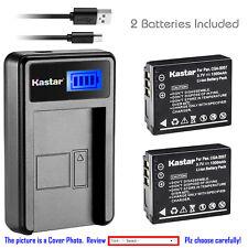 Kastar Battery LCD USB Charger for Panasonic CGA-S007 & Panasonic LUMIX DMC-TZ3K